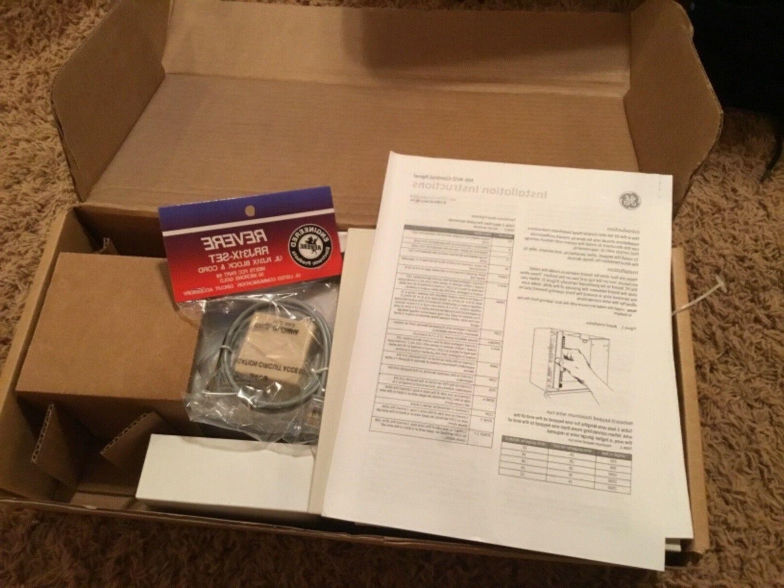 NEW GE Interlogix Home Security NX-4-FP w/NX-1300E LED Alarm.com