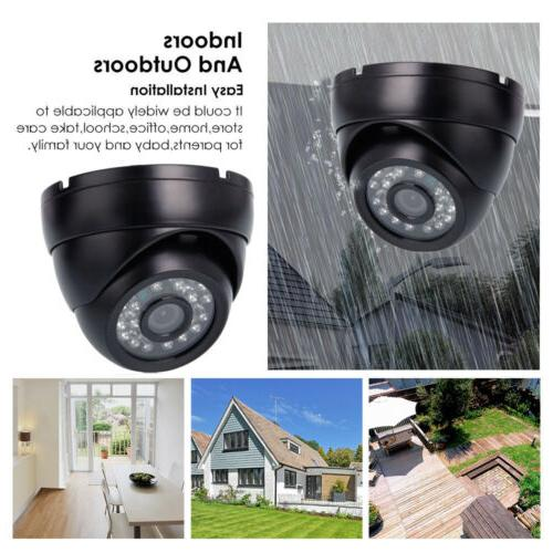720P AHD HD Analog Home IR-CUT CCTV Camera Waterproof NTSC f
