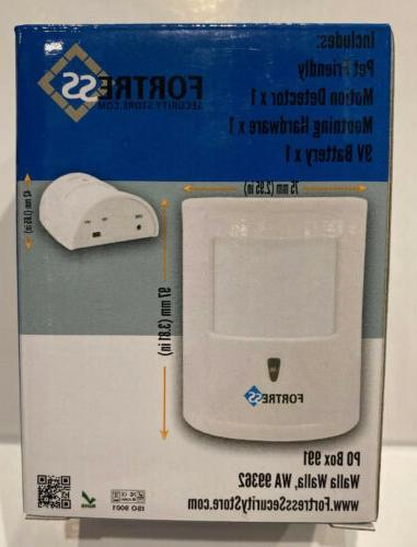 Pet Immune Motion Wireless Home Automation Security