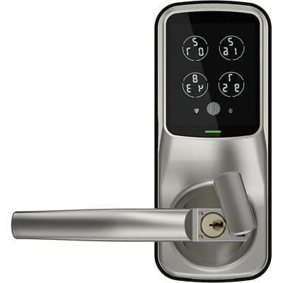 Lockly Bluetooth Latch Nickel