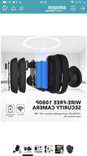 Security Rechargeable Cam