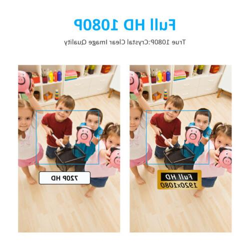 ANRAN 1080P Camera System Smart Baby Camera Audio CCTV