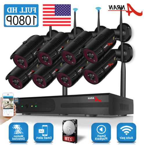 home wireless security camera system 1080p outdoor