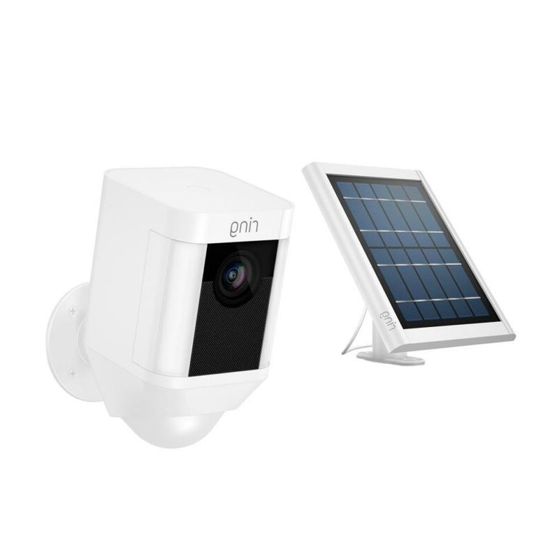 security surveillance camera spotlight cam solar wireless
