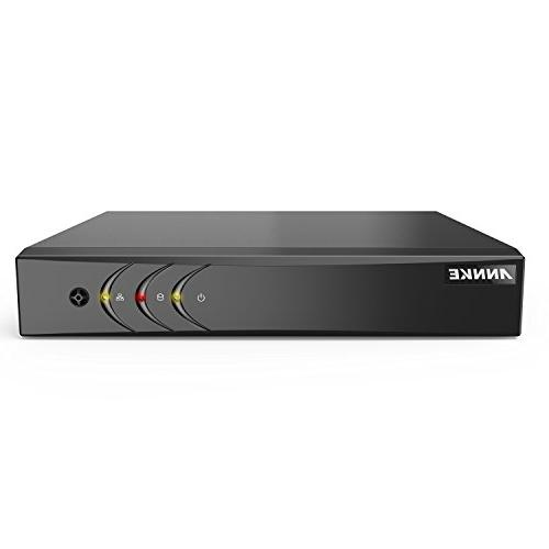 ANNKE Security lite H.264+ with 1TB Drive and 1080P Weatherproof HD-TVI with IR-cut Night LEDs, Instant email alert with images