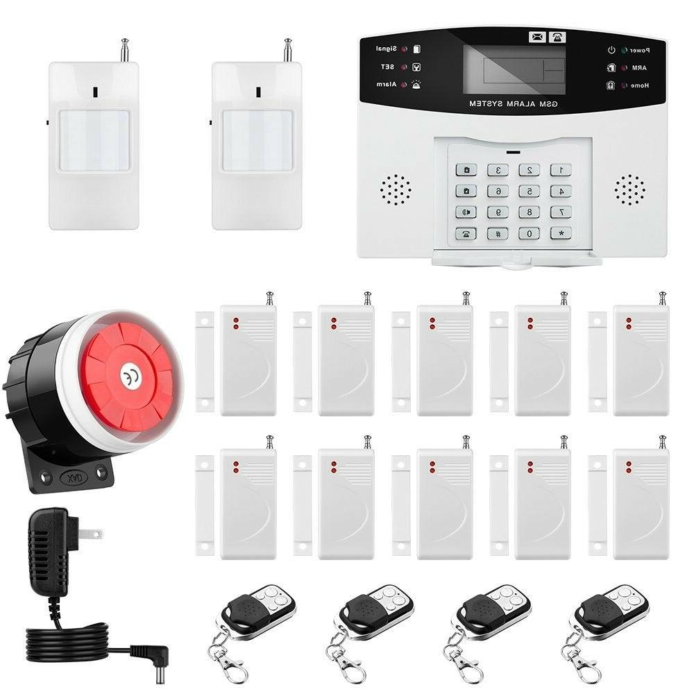 security system professional wireless voice home office