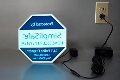 Self Yard Sign for Home Security System