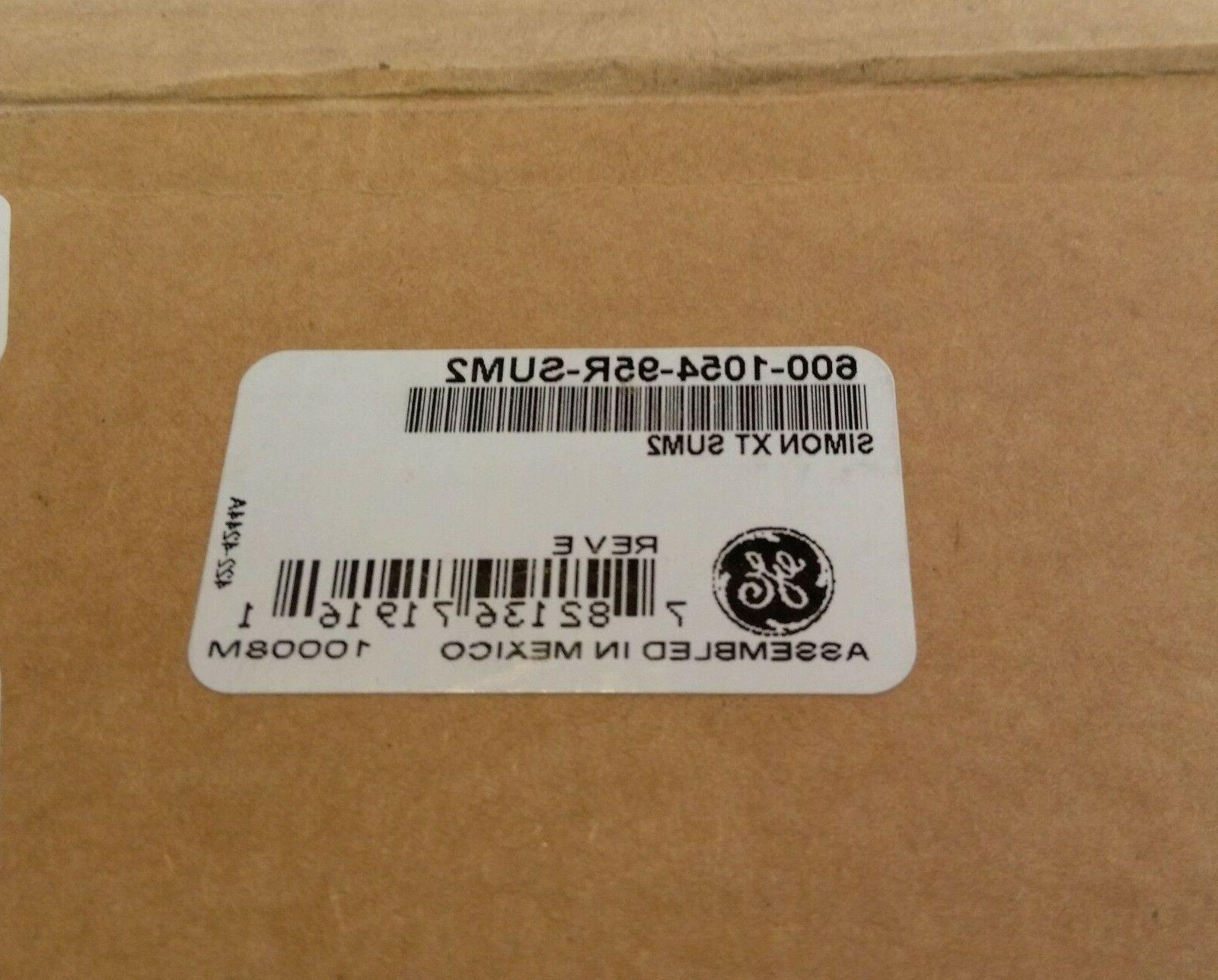 GE SIMON XT 600-1054-95R-SUM2 HOME SECURITY SYSTEM