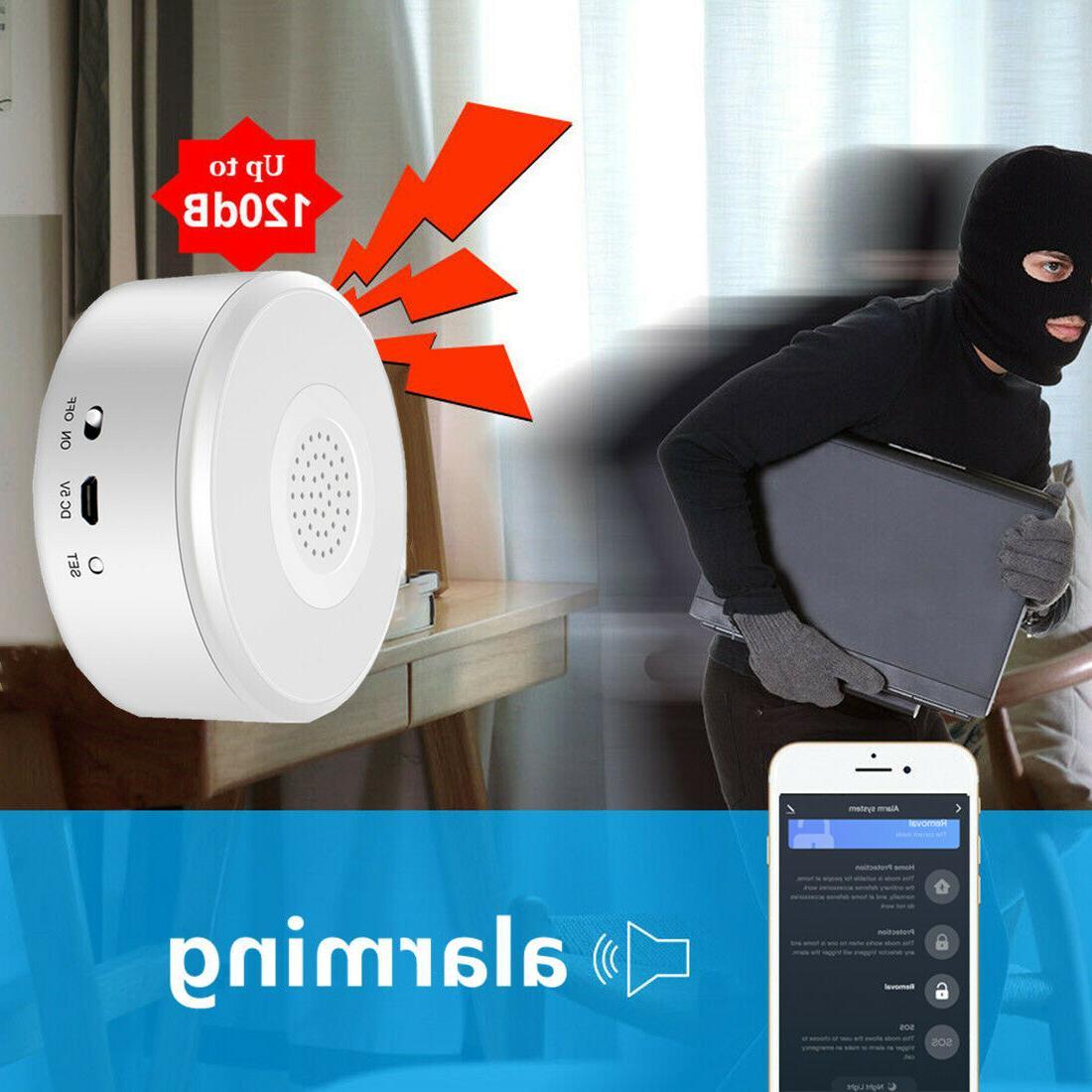 Smart Wifi Alarm Push DIY No