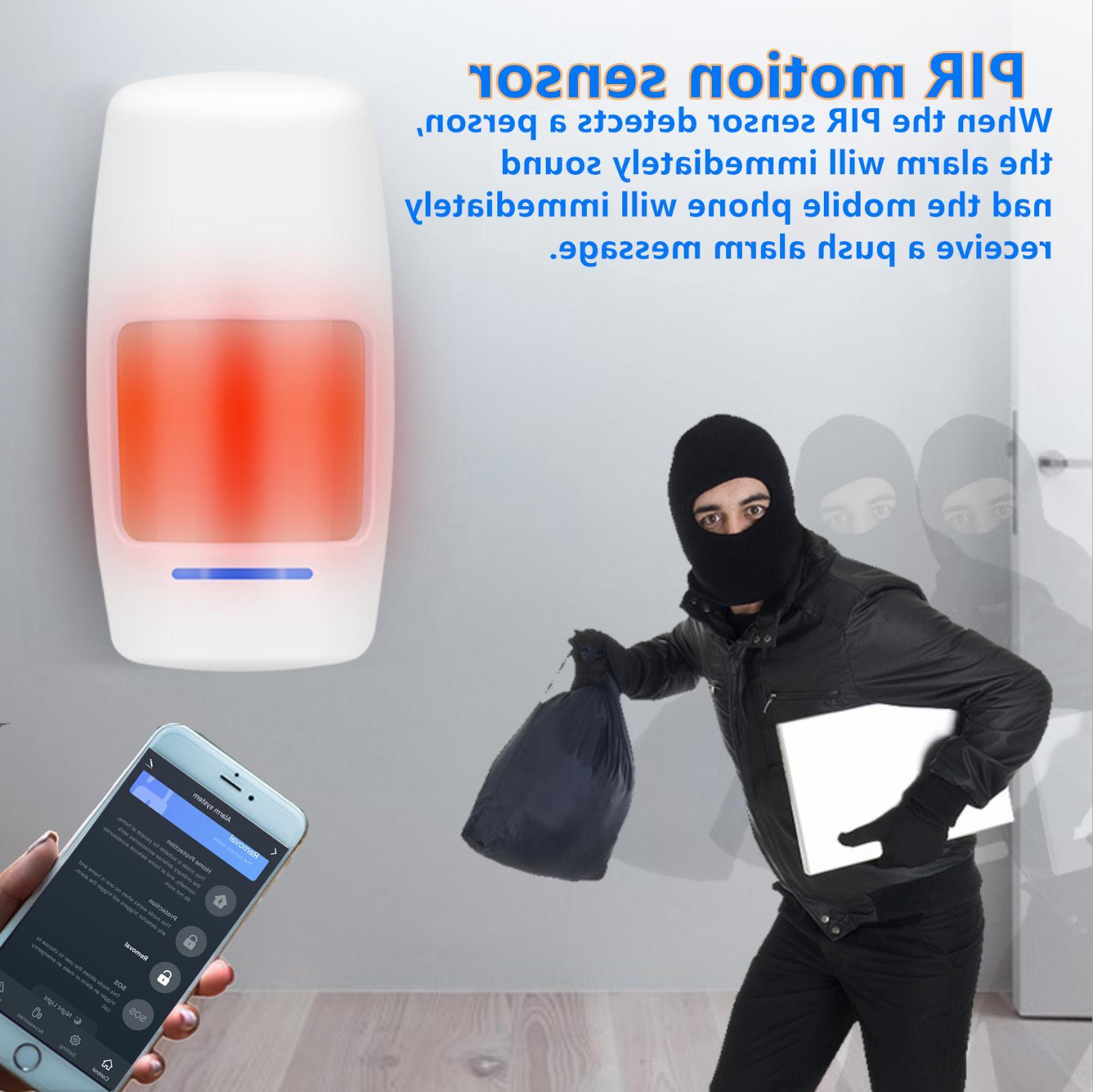 Smart Wifi Alarm APP Push & Calling Alarms