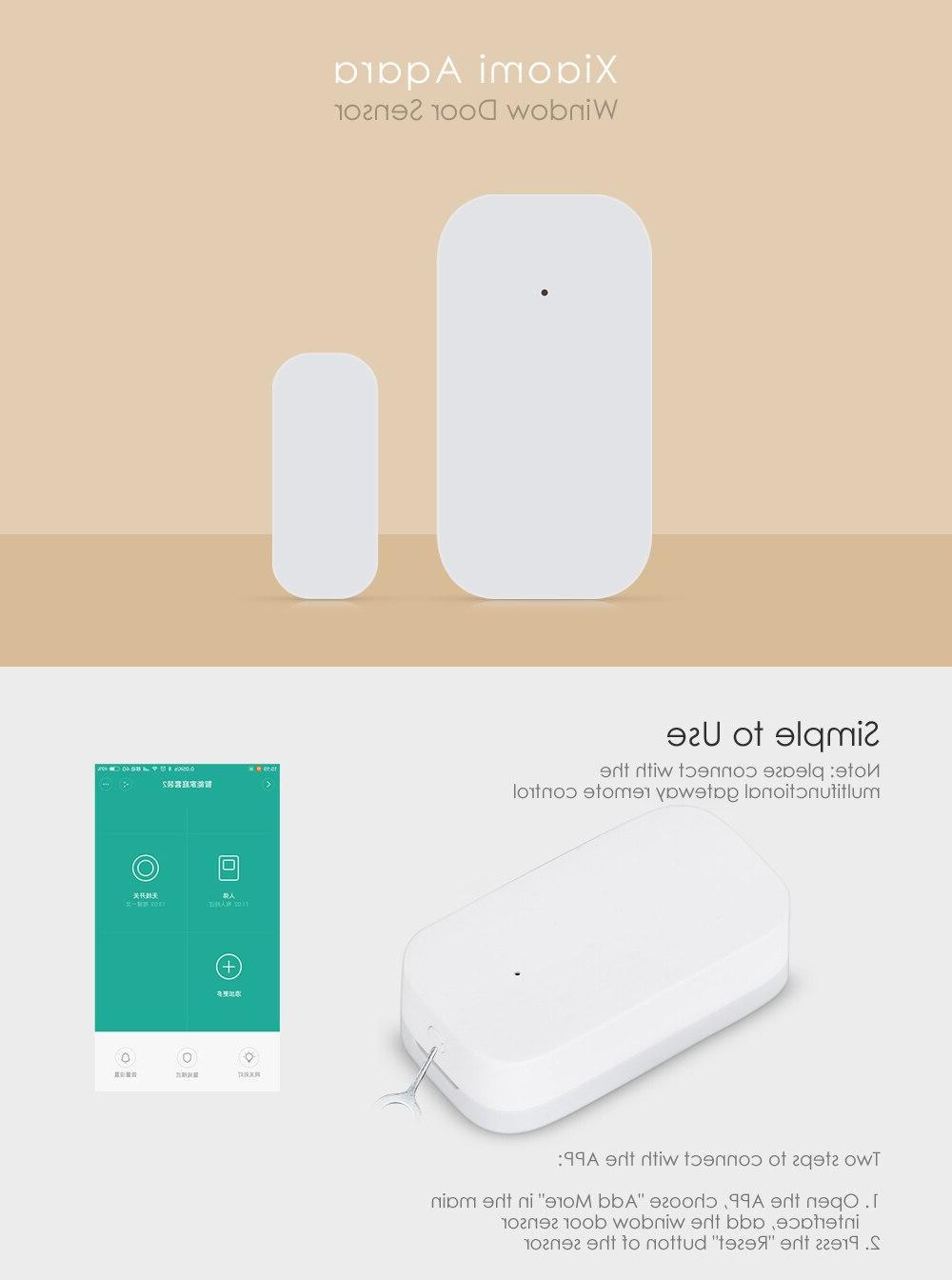 Aqara Smart Window Door Sensor Zigbee alarm Smart <font><b>Home</b></font> Xiaomi <font><b>home</b></font>