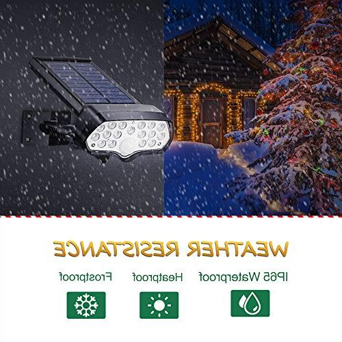 Litom 17 LEDs, Safety Security Motion Sensor Light Adjustable, Spotlight for Front Garage, Garden, Balony, Home