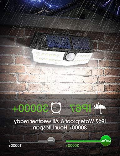 Lights Outdoor, Waterproof Wireless Sensor Lights, Easy-to-Install Security Lights Front Door, Yard, Deck-2