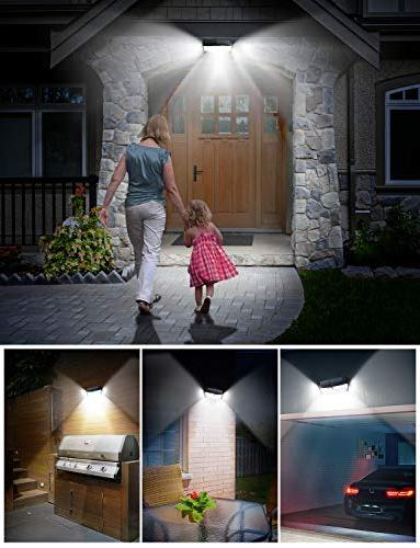 LITOM 30 LED Lights Waterproof Solar Sensor Lights, Easy-to-Install Security Front Door, Yard, Garage, Deck-2