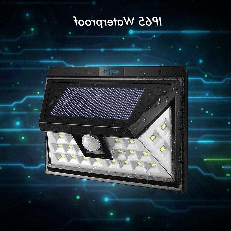 Solar Power Outdoor Sensor <font><b>Security</b></font> Lights <font><b>Home</b></font> Garden
