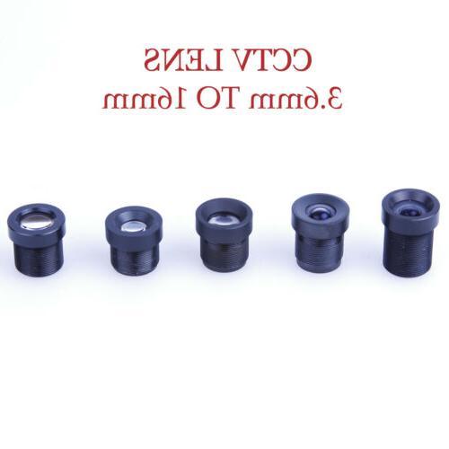 Surveillance 3.6mm 6mm 8mm 12mm 16mm Mini Lens Fixed Camera