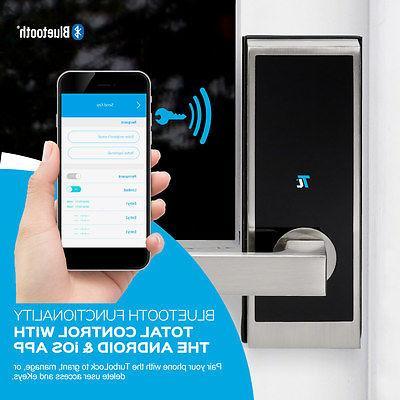 TurboLock TL100 Smart Entry Security Electronic Door Lock Bluetooth
