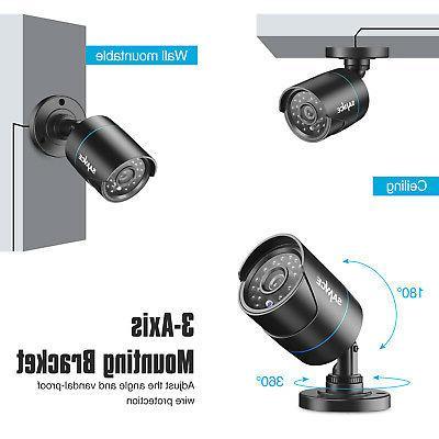 SANNCE 1080P DVR Camera Night Vision