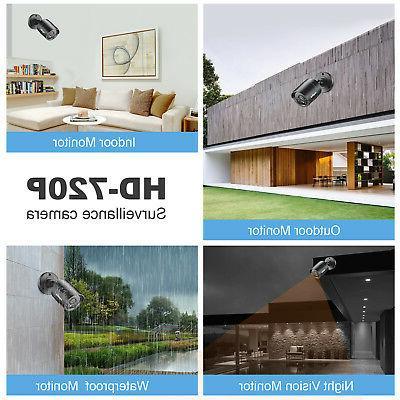 SANNCE 8CH DVR CCTV Camera Night Vision 1T