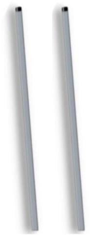 """SecurePro Products TWO Brand 36"""" Long Yard Aluminum Sign Pos"""