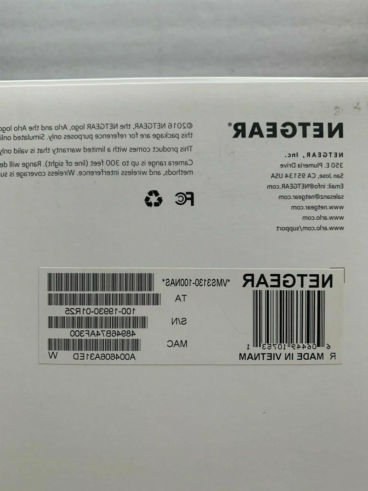 VMS3130 Netgear Smart Home Security Brand NEW!