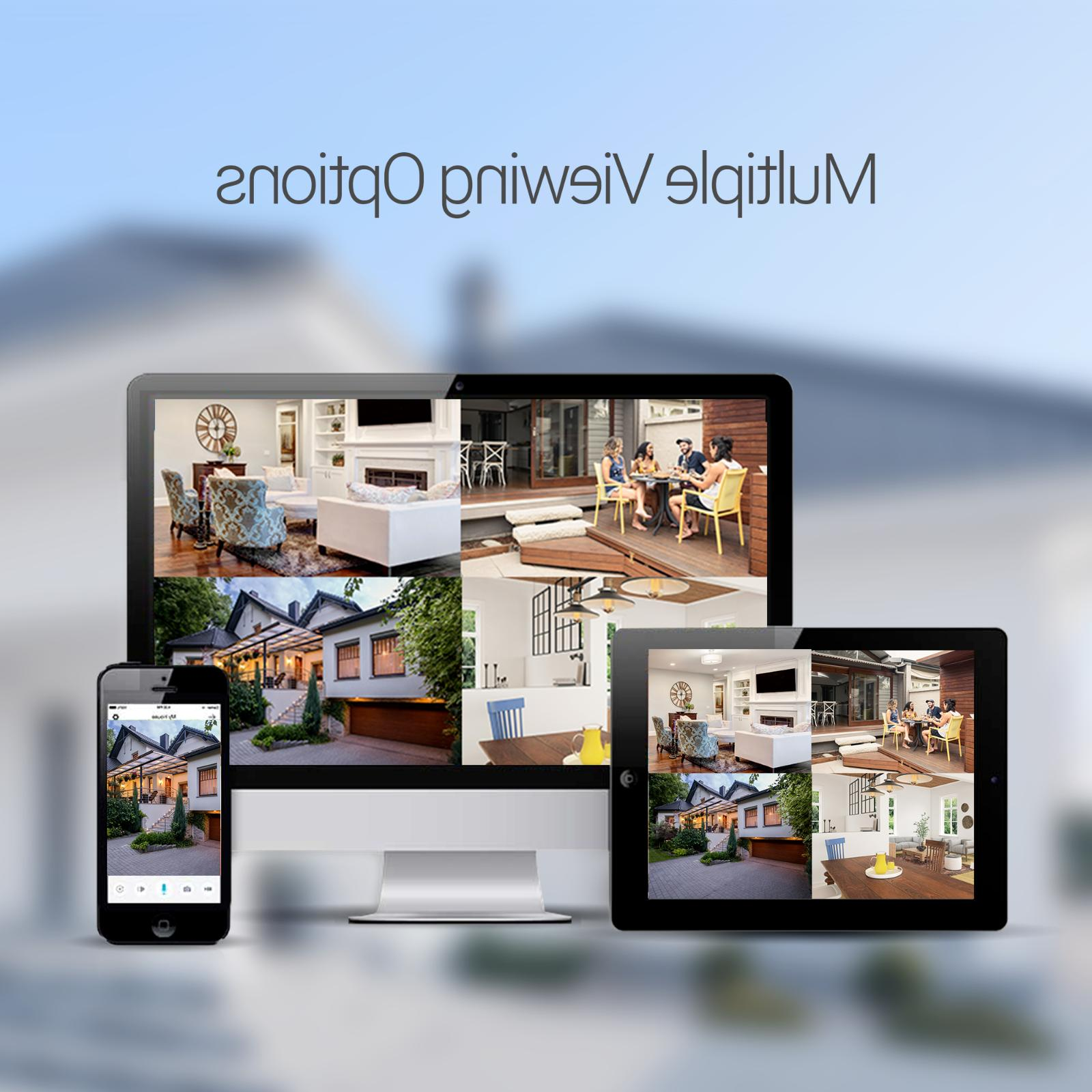 Zmodo 1080P Indoor Wireless Home Smart IP Camera Night
