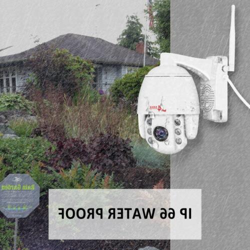 ANRAN WIFI Camera Outdoor 2Way Audio 1080P P2P APP