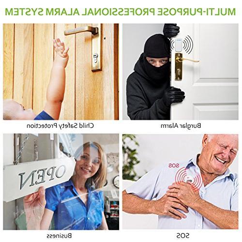 BIBENE WiFi Security Door System DIY Works Alarm System with APP, Main