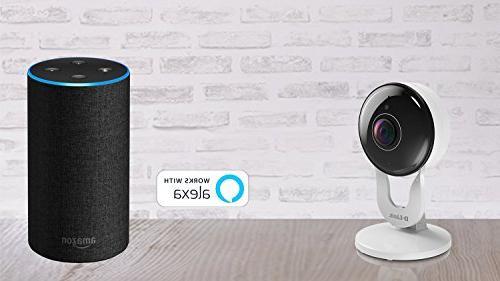 D-Link Full HD WiFi Indoor Recording, 2-way Audio, Detection & Amazon Google Assistant