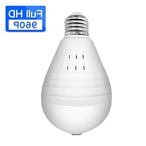 wifi ip panoramic light bulb