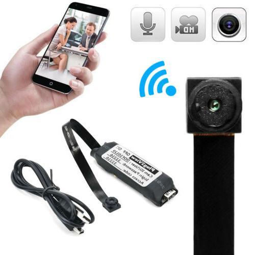 Mini Spy Camera Wifi IP Home Security HD DVR