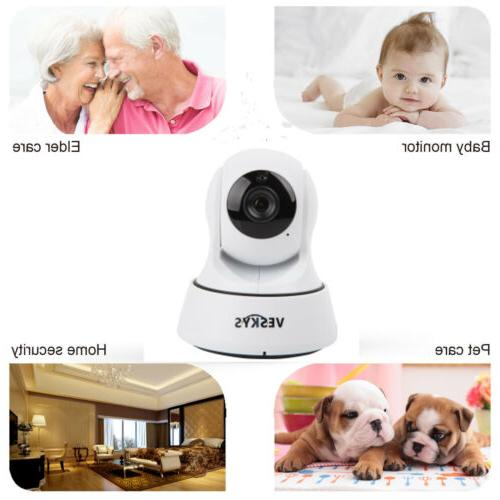 WiFi Home Camera HD 1080P Pan Tilt Vision Audio IP Webca