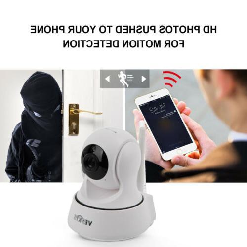 WiFi Home Security Camera 1080P Tilt Night Audio IP