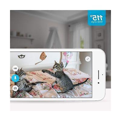 Zmodo 720p WiFi Wireless System Two-Way Audio Night V...