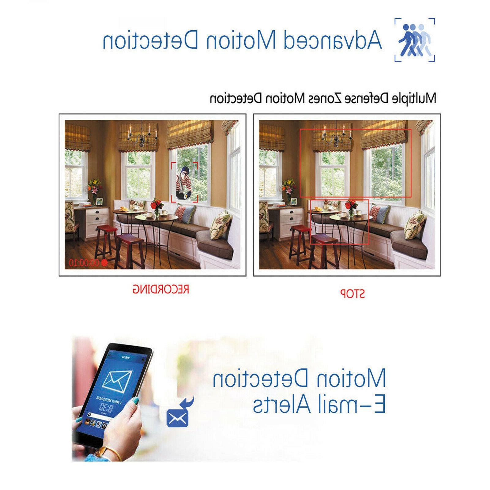 Anni 4CH NVR Camera Security Video