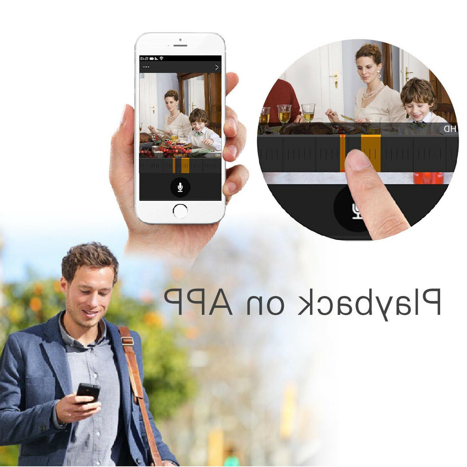 Anni 4CH NVR Home WIFI Camera Video