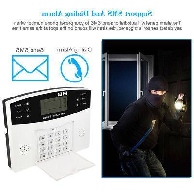 Wireless GSM Burglar Security Detector