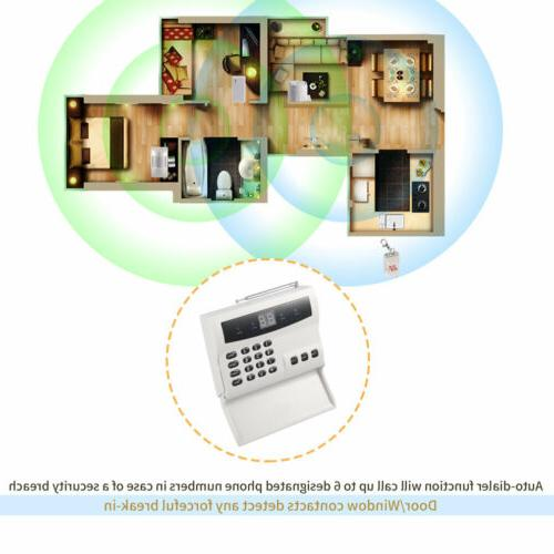 Wireless Home Alarm System Motion UM