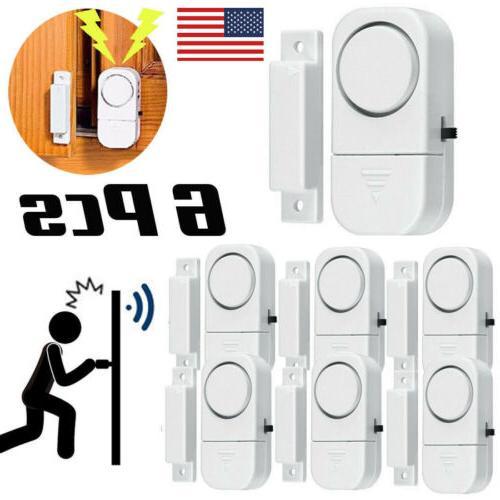 wireless home window door burglar
