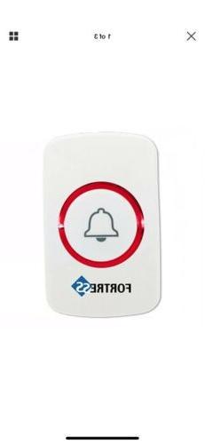Wireless Panic Button Trigger Siren Silent Alarm Fortress Se