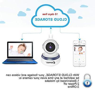 Wireless Camera, HD Home Surveillance IP