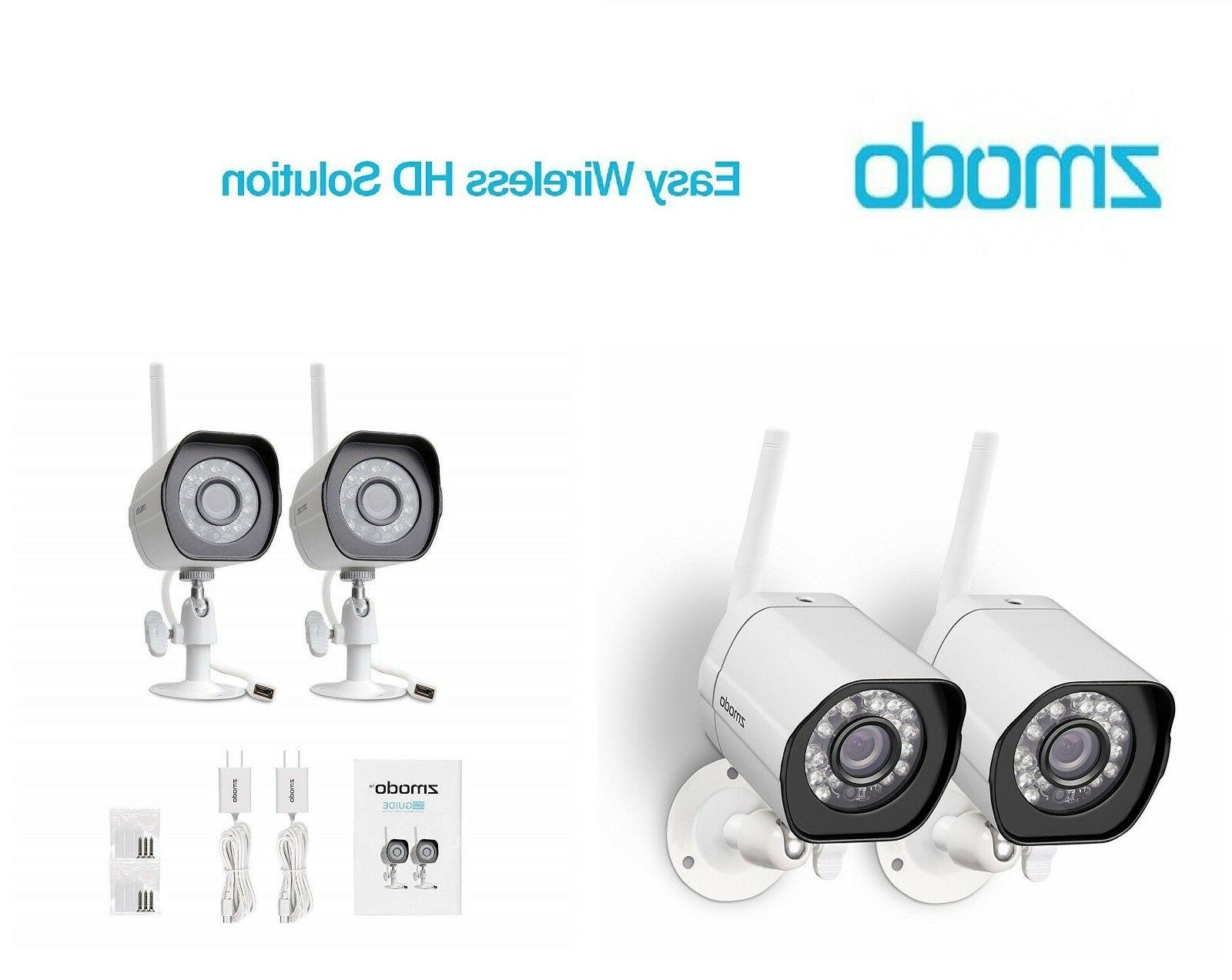 Zmodo Wireless Security Camera System ,Smart Home HD Indoor