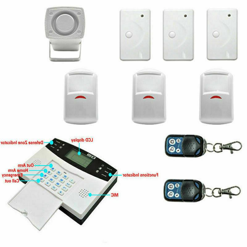Wireless Smart Home Security Alarm System Motion