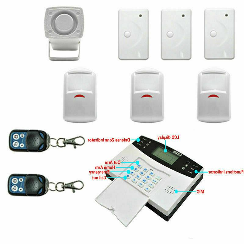 Wireless Security Door System Motion USA