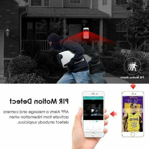 Wireless IR Video Visual Intercom Home