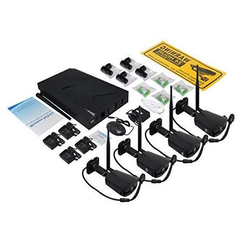 JOOAN Surveillance with IP Camera NVR Plug with Drive