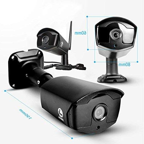 JOOAN HD960P Security CCTV Surveillance with IP Camera 4CH Plug and Play with 1TB Drive
