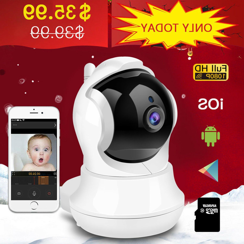 wireless wifi ip camera hd smart home