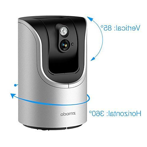 Zmodo HD 85° Security Two-Way SmartLink Remote