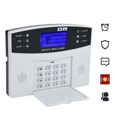 Wireless GSM SMS House Alarm System Security EK